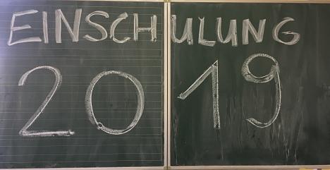 Einschulung 2019©Grundschule Leese