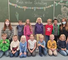 Klasse 1 - 2021©Grundschule Leese