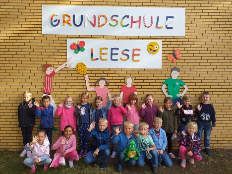 Schulanfänger 2020©Grundschule Leese
